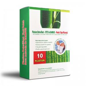NARCIS Plasturi detoxifiere bambus, 6 cm x 8 cm (10 buc)