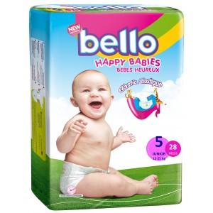 BELLO Scutece copii JUN, 12 - 25 kg  ( 28 buc )