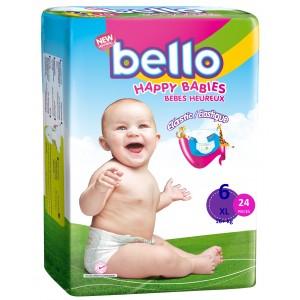 BELLO Scutece Copii XLARGE 16+ kg (22 buc)