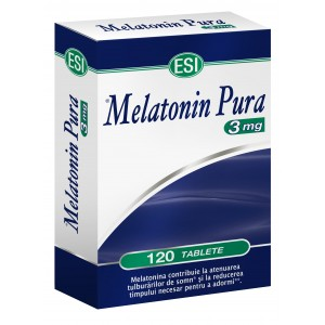 ESI Melatonina pura 3 mg -120 comprimate