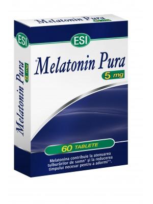 ESI Melatonina pura 5 mg - 60 comprimate