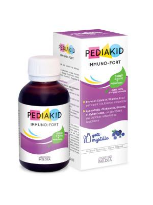 PEDIAKID Sirop pentru imunitate la copii (IMMUNO FORT) - 125 ml