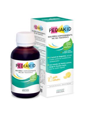 PEDIAKID RAU DE MISCARE, GREATA, VARSATURI - sirop 125 ml