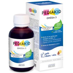 PEDIAKID OMEGA 3 - DHA SI COLINA - sirop 125 ml
