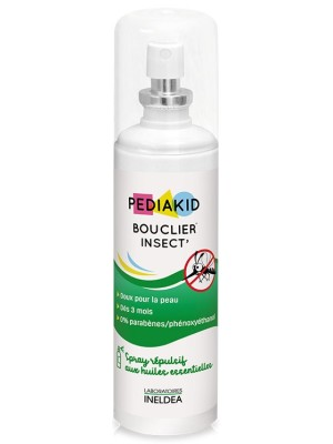 PEDIAKID SPRAY IMPOTRIVA TANTARILOR SI CAPUSELOR (BOUCLIER INSECT) - 100 ml + Gel dezinfectant GRATIS
