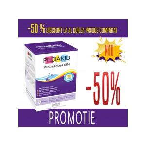 Promotie PEDIAKID PROBIOTICE (PROBIOTIQUES) 2 x - 10 pliculete