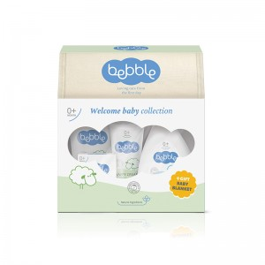 BEBBLE Colectia Welcome baby + Paturica cadou