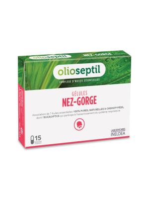 OLIOSEPTIL  NAS-GAT (NEZ- GORJE) - 15 capsule
