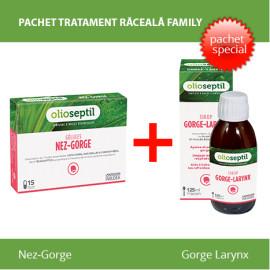 Pachet Tratament Raceala Family