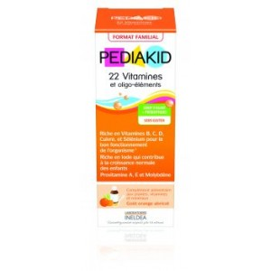 PEDIAKID 22 VITAMINES & OLIGO-ELEMENTS - sirop 250 ml