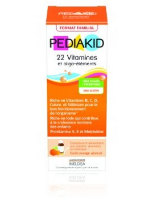 PEDIAKID 22 VITAMINES & OLIGO-ELEMENTS - sirop 250 ml