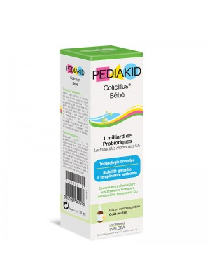 PEDIAKID ANTICOLICI BEBELUSI (COLICILLUS BEBE) - sirop 10 ml