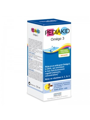 PEDIAKID OMEGA 3 - DHA SI VITAMINE - sirop 125 ml
