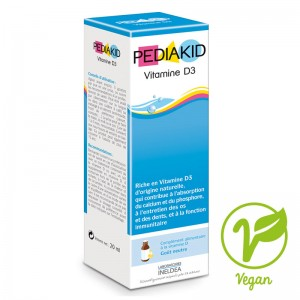 Cadou PEDIAKID VITAMINA D3 (VITAMIN D3) - 20 ml