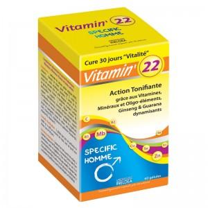 Cadou VITAMIN' 22 VITAMINE PTR BARBATI – 60 capsule
