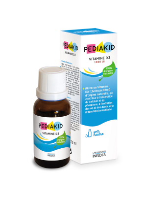 Pediakid Vitamine D3 Forte - 1000UI - 20ml