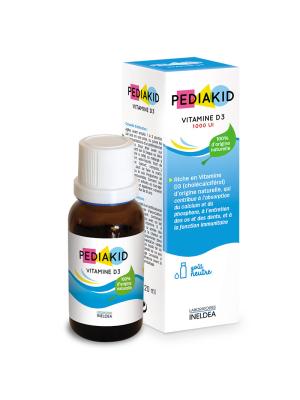 Pediakid Vitamine D3 Forte - 1000UI - 20ml
